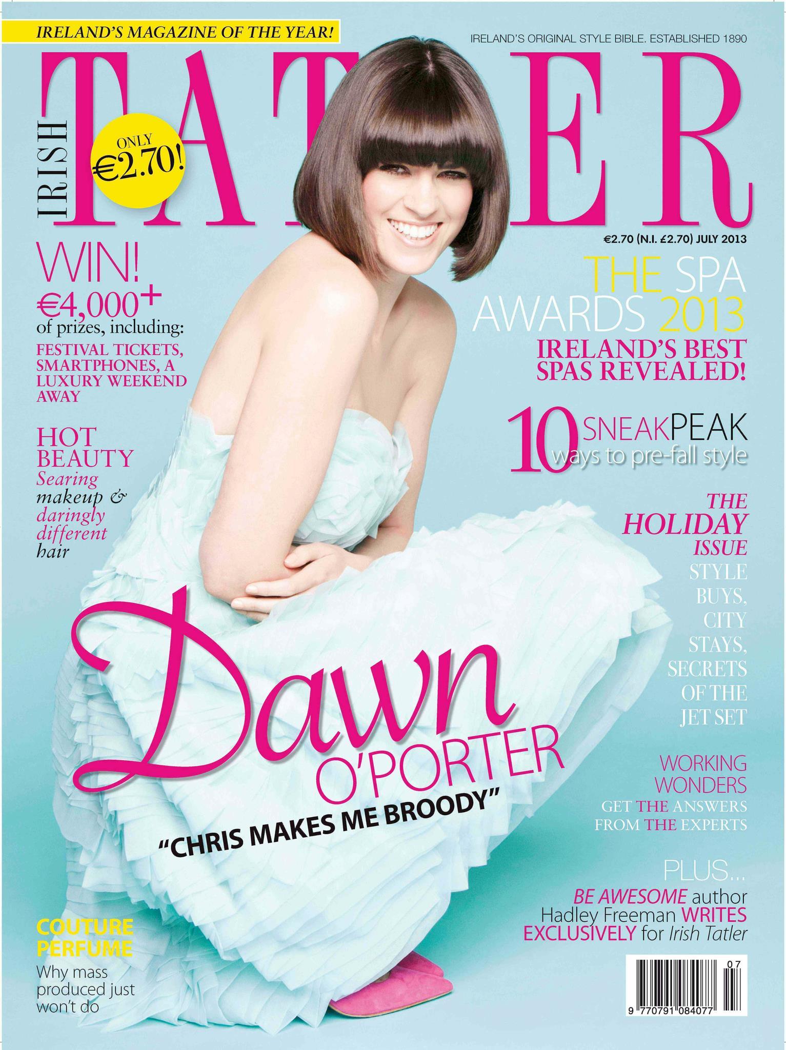 Irish Tatler - July 2013 Cover